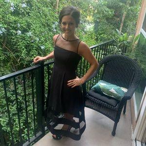 Like new Aidan Mattox black dress size 0.